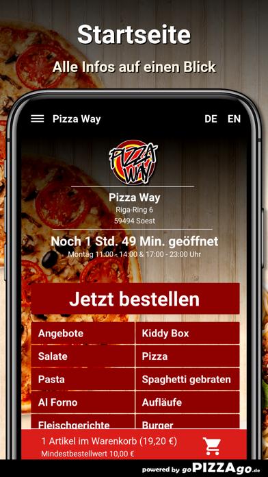 Pizza Way Soest screenshot 2