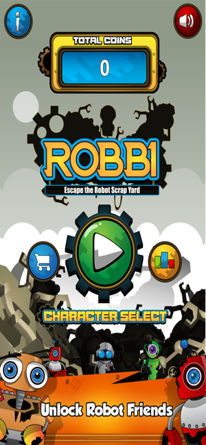 ‎Robbi - Escape The Scrapyard Screenshot