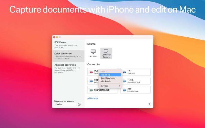 FineReader PDF: OCR Converter Screenshots