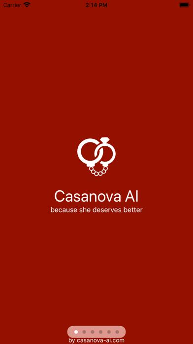 Casanova AI Screenshot