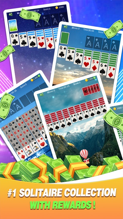 Solitaire Collections Win
