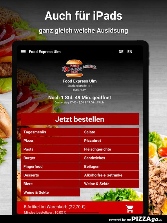 Food Express Ulm Ulm screenshot 7