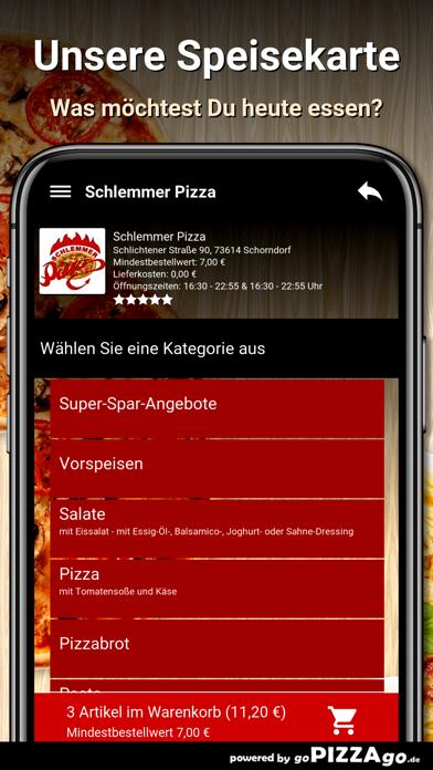 Schlemmer Pizza Schorndorf go screenshot 4