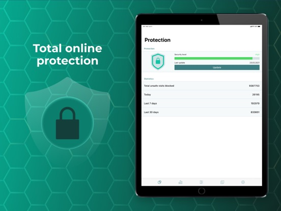 Ipad Screen Shot Prime Shield: online security 0