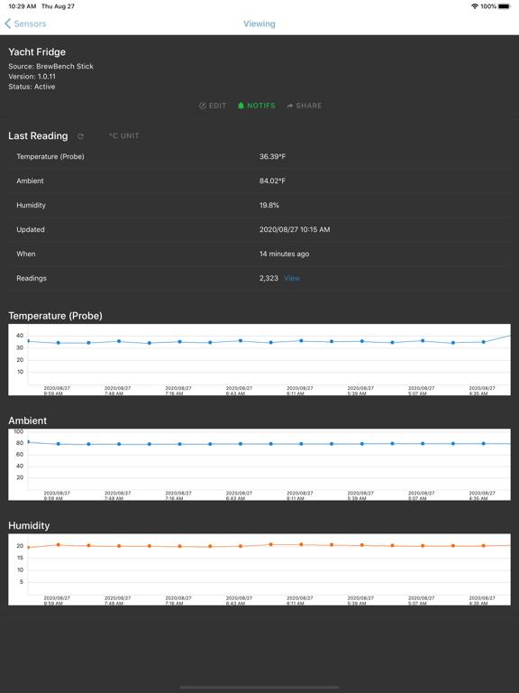 BrewBench Monitor screenshot 8