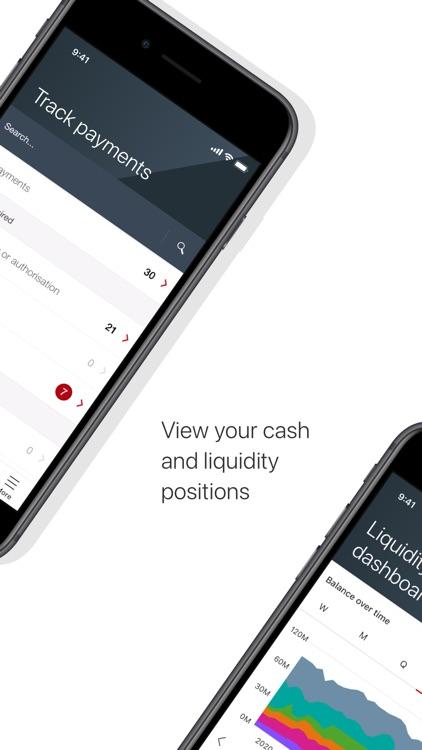 HSBCnet Mobile screenshot-4