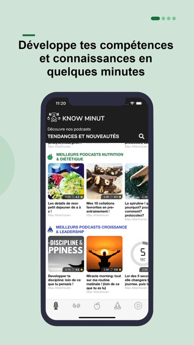 messages.download KnowMinut Podcasts software