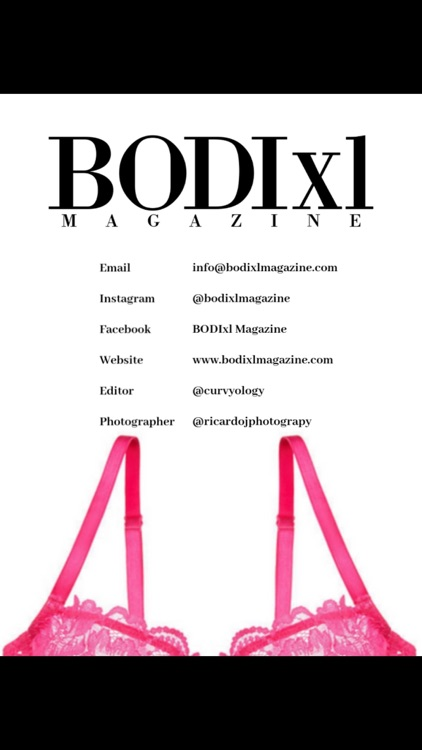 BODIxl Magazine screenshot-1