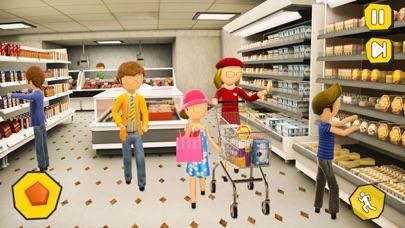 Shopping Mall- Stickman Family screenshot 1