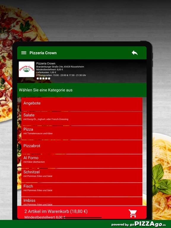 Pizzeria Crown Rüsselsheim screenshot 8