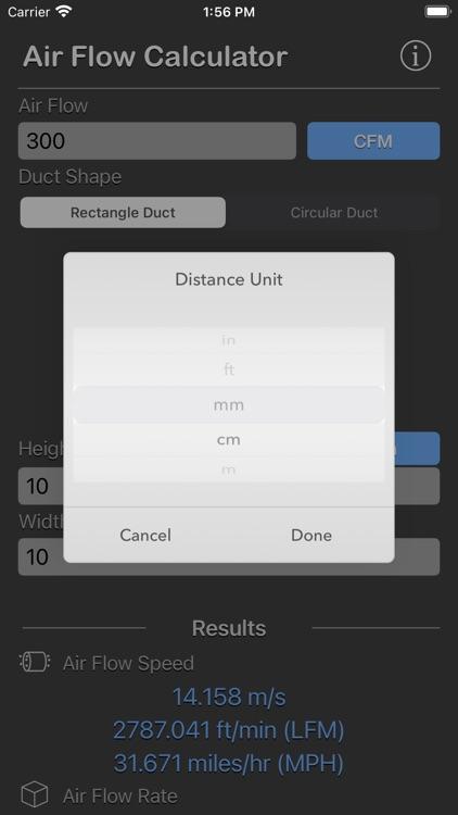 Air Flow Conversion Calculator screenshot-6