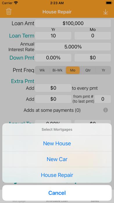 Mortgage/Loan Calculator Plus Screenshot