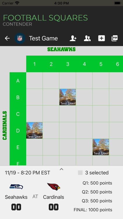 Football Squares | Contender screenshot-6