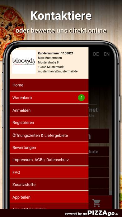 Pizzeria La Locanda Oberhausen screenshot 3