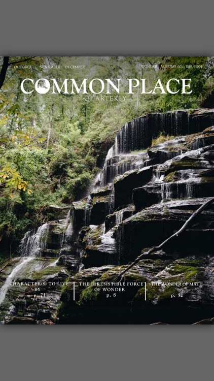 Common Place Quarterly