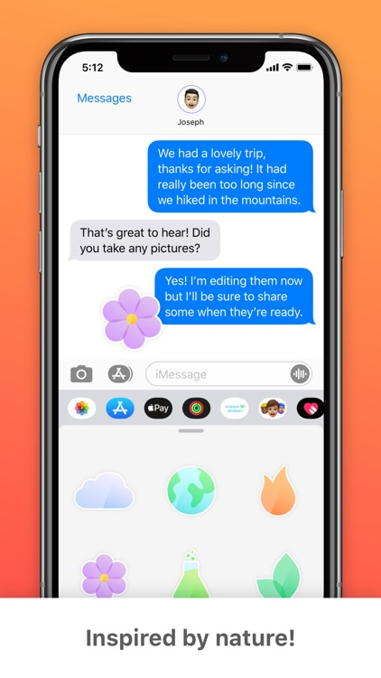 Science Stickers! for iMessage