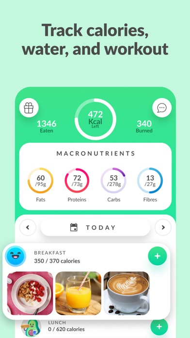 messages.download Foodvisor - Calorie Counter software