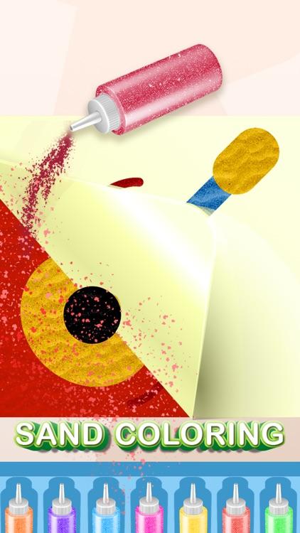 Sand art painting games screenshot-3