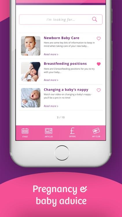 Emma's Diary: Pregnancy App UK screenshot-7