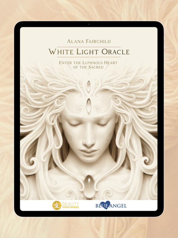 Ipad Screen Shot White Light Oracle 0