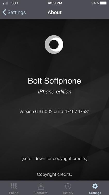 Bolt Softphone