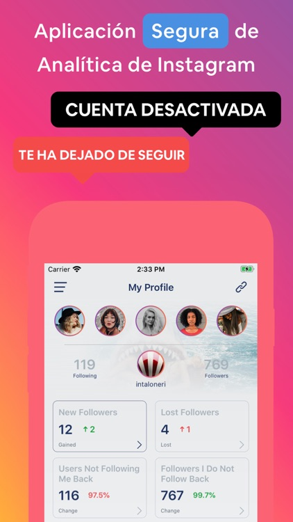 Sarman - Instagram Tracker