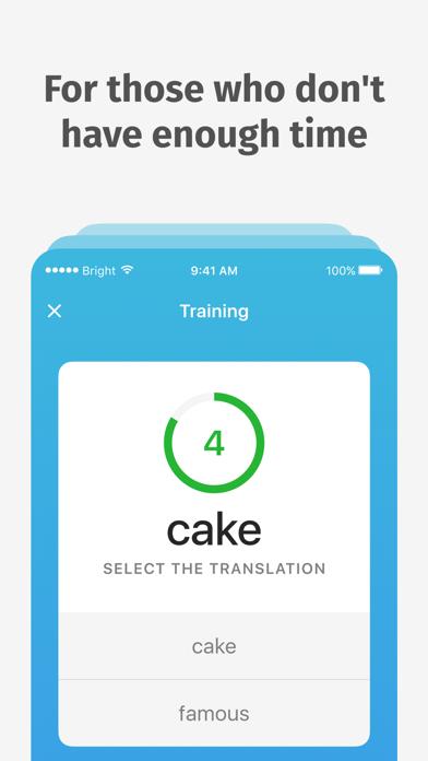 Bright - Learn English fast Screenshot