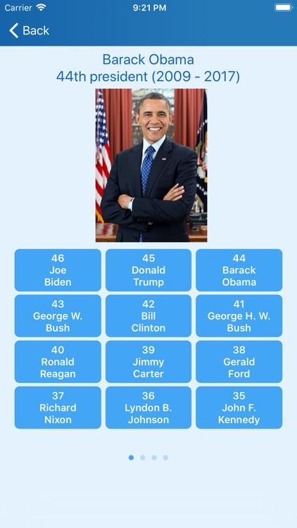 Presidents of the USA - quiz screenshot-5