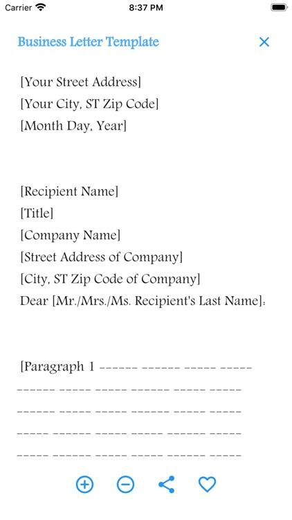 English Letter Writing screenshot-4