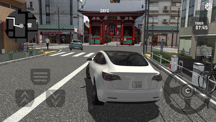 东京通勤族-旅游驾驶模拟 screenshot-3