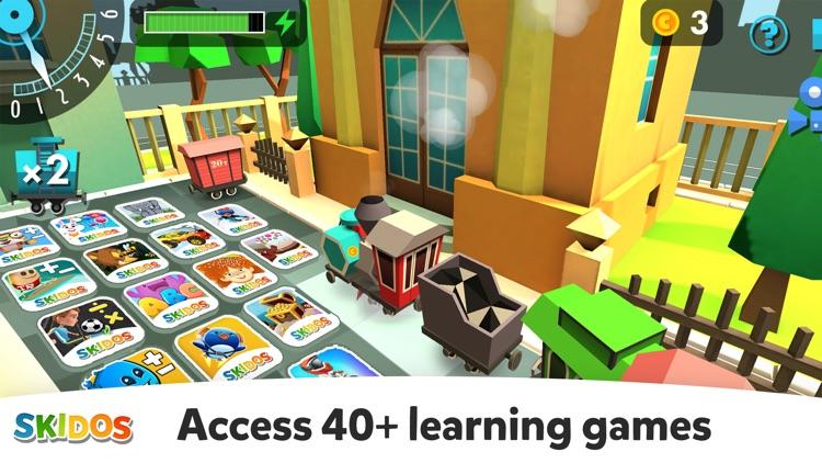 Kids Games: My Math Fun Train screenshot-8