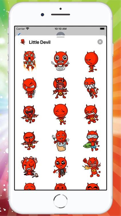 Little Devil Sticker
