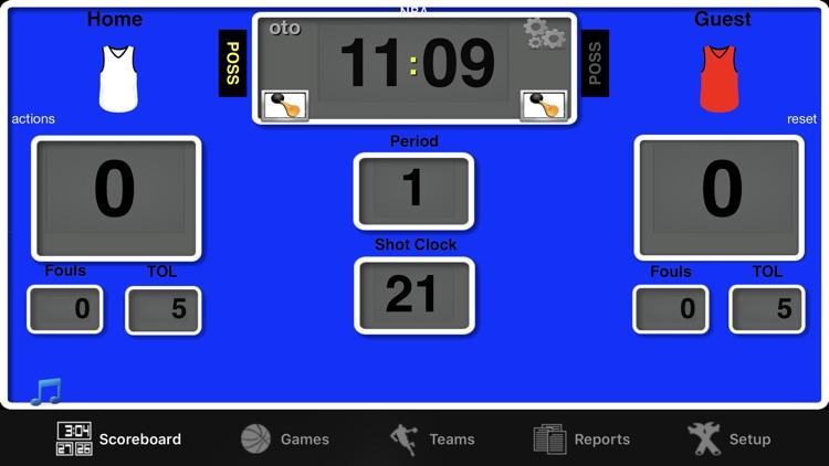 Ballers Basketball Scoreboard screenshot-5