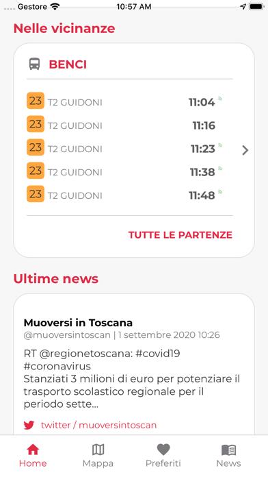 Screenshot of Muoversi in Toscana2