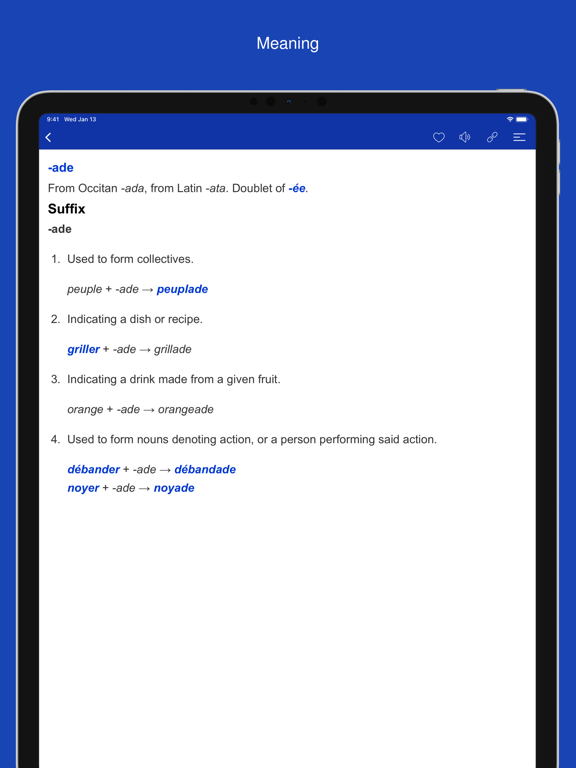French Word Parts, Vocabulary screenshot 13