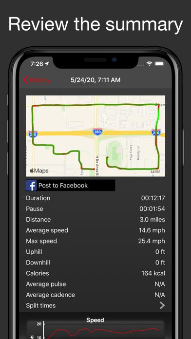Fitmeter Bike - GPS Cyclingのおすすめ画像2