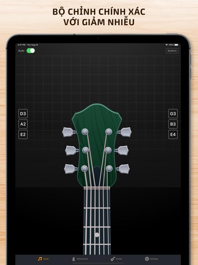 Guitar Tuner & Tempo Metronome