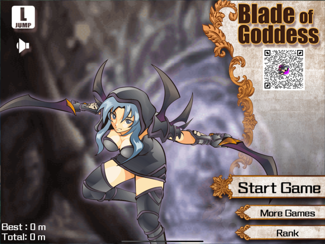 Blade of Goddess, game for IOS