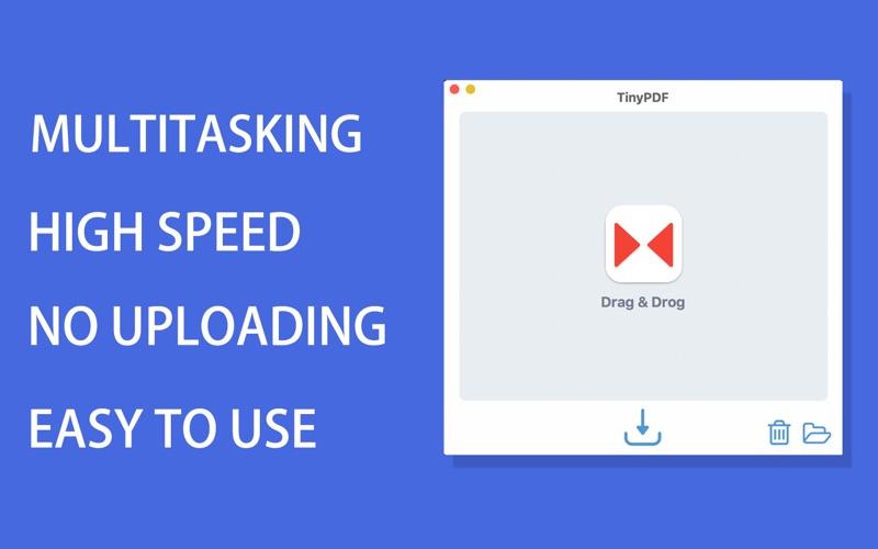 TinyPDF - PDF Компрессор скриншот программы 2