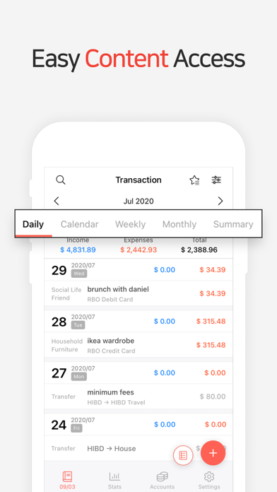 Money Manager Expense & BudgetСкриншоты 2