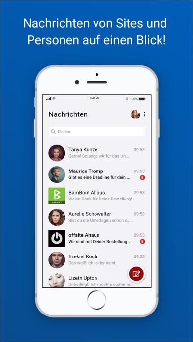 chayns Intercom screenshot 1
