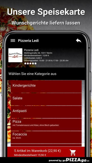 Pizzeria Ledi Berlin screenshot 4