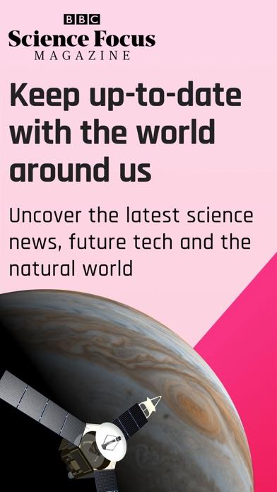 BBC Science Focus Magazine screenshot one