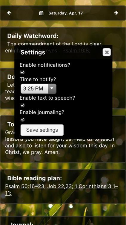 Moravian Daily Texts 2021