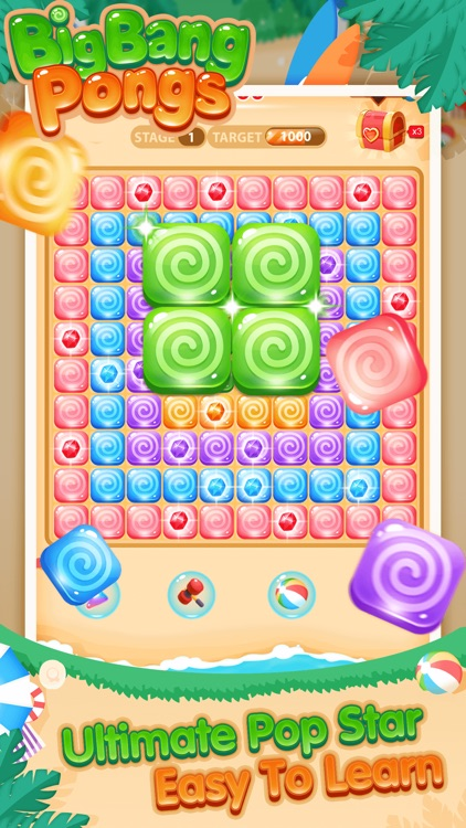 BigBang PopStar - Pongs Puzzle screenshot-0