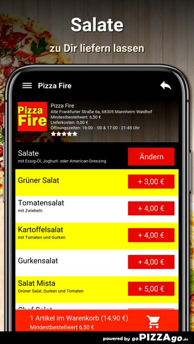 Pizza Fire Mannheim Waldhof screenshot 4