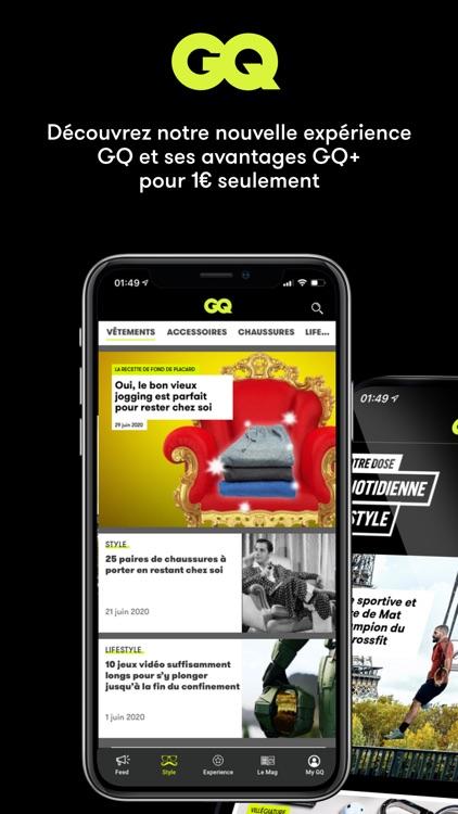 GQ Magazine France screenshot-7