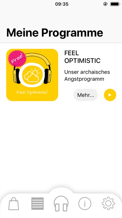 Feel Optimistic! Hypnose