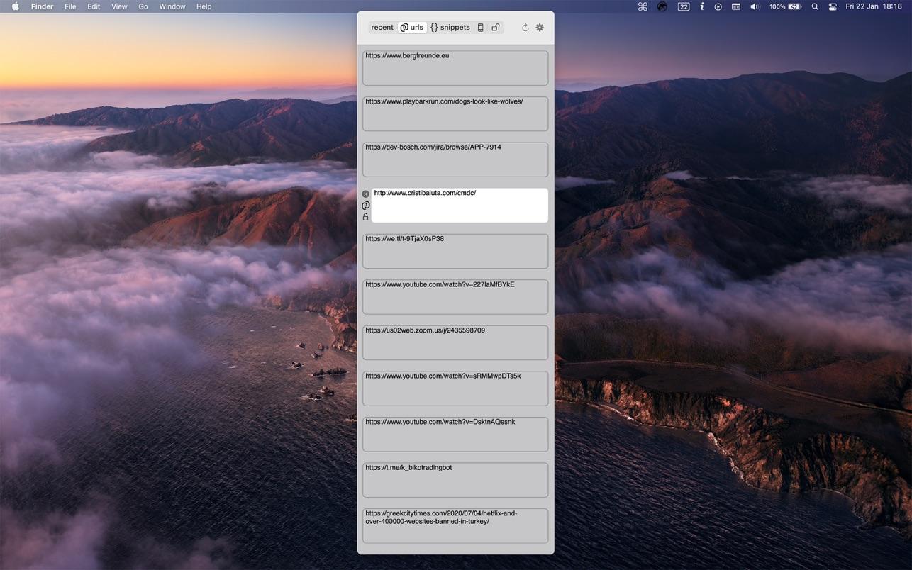 cmd c 1.4.1 Mac 破解版 程序员专用剪贴板工具