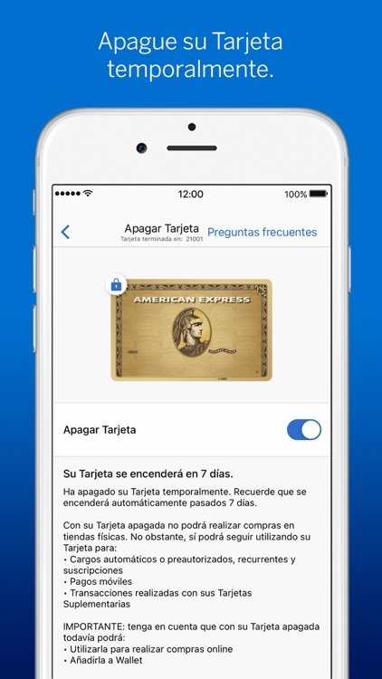 Amex España screenshot-5